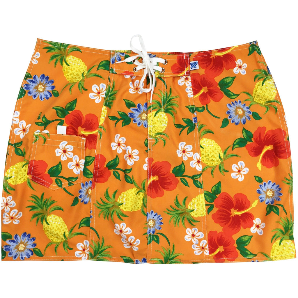 """Sangria"" Board Skirt (Orange)"
