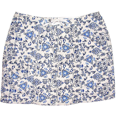 """Stage Coast"" 100% Cotton Board Skirt (White) *SALE* - Board Shorts World"