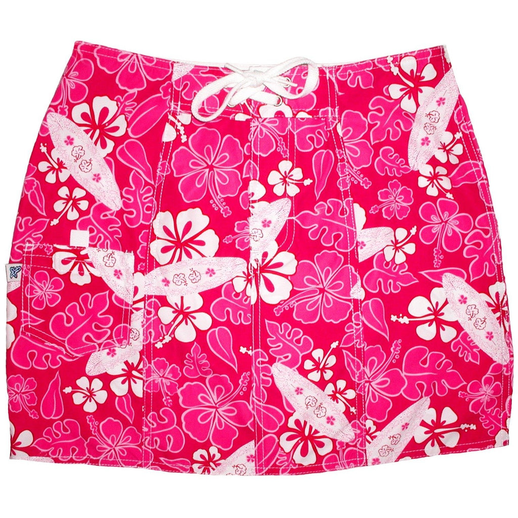 """Stick Figures"" Board Skirt (Pink) CUSTOM"