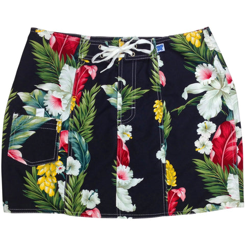 """Stranded"" Board Skirt (Black or Natural) - Board Shorts World - 1"