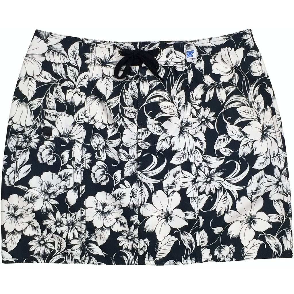 """Vintage"" Original Style Board Skirt (Black) - Board Shorts World"
