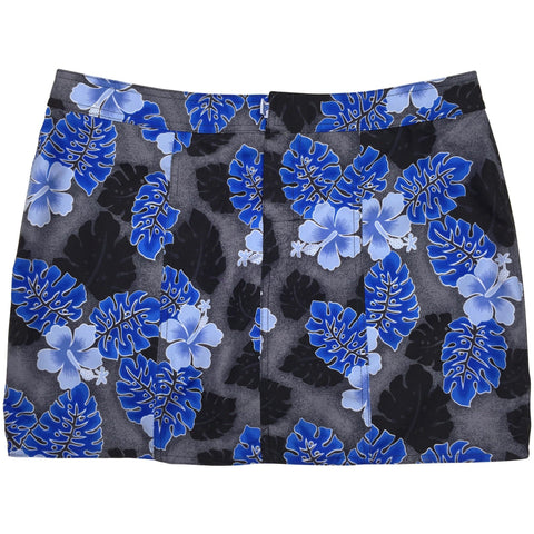 """Elm Street"" Hipster Board Skirt (Black, Royal or Gray) - Board Shorts World - 1"