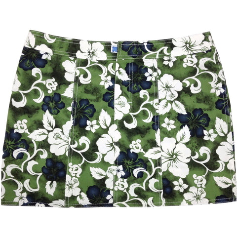 """Jungle Boogie"" Hipster Board Skirt (Olive, Charcoal, Blue, Red, or Orange) - Board Shorts World - 1"