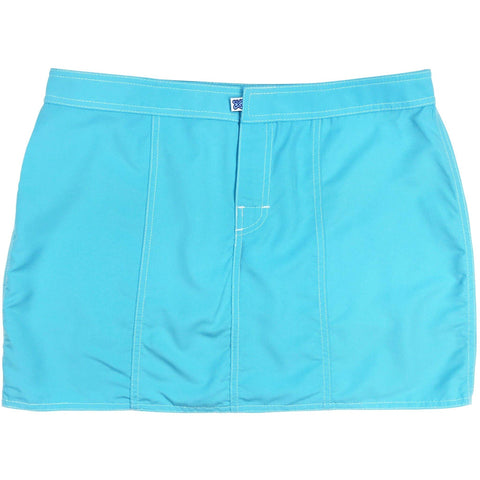 """A Solid Color"" Hipster Style Board Skirt (Aqua, Grape, or Turquoise) - Board Shorts World"