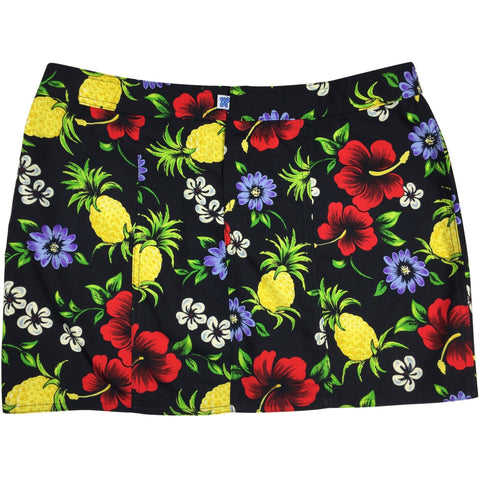 """Sangria"" Hipster Board Skirt (Black, Blue, Orange, Lime, or Yellow)"
