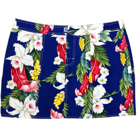 """Stranded"" Hipster Board Skirt (Blue, Black, Red or Natural) - Board Shorts World - 1"