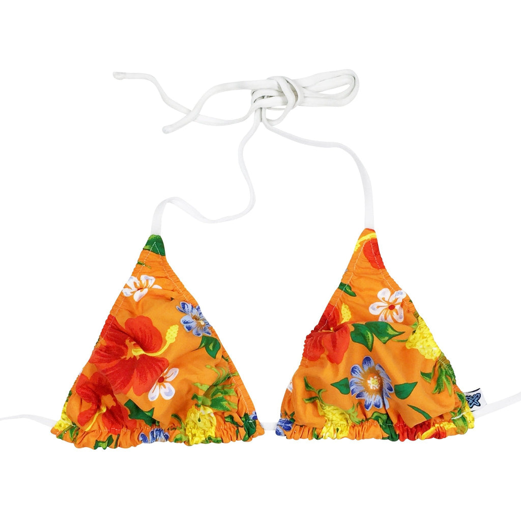 """Sangria"" Bikini Top (Orange, Blue, Lime, Black or Yellow)"