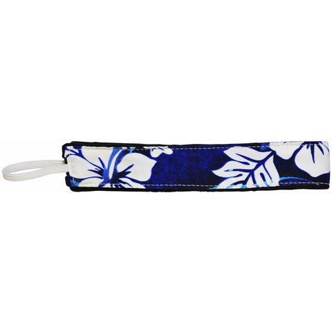 """Fins"" Dolphin Print Head Band (Blue) - Board Shorts World"