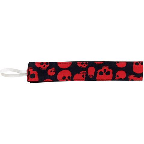 """Live to Ride"" Skulls Print Head Band (Red+Black)"