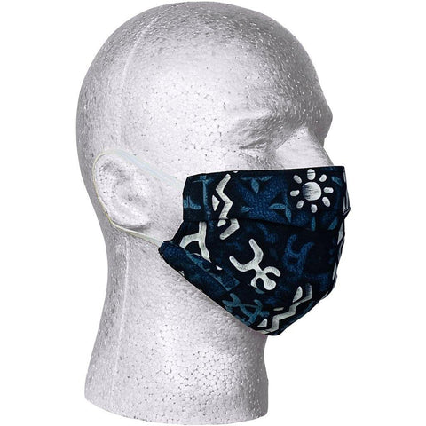 """Jungle Cruise"" Face Mask (Charcoal).  **Available in Both Styles** - Board Shorts World"
