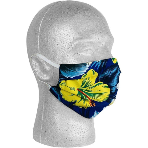 """Jungle Juice"" Face Mask (Blue).  **Available in Both Styles**"