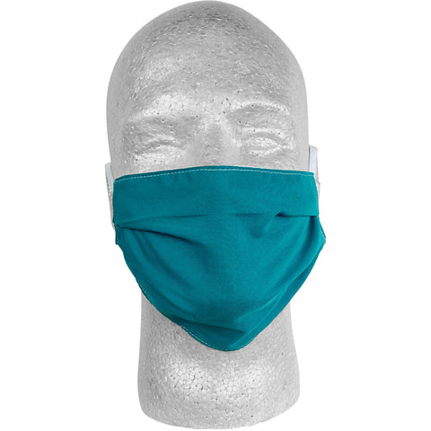 Solid Jade Face Mask.  **Available in Both Styles** - Board Shorts World
