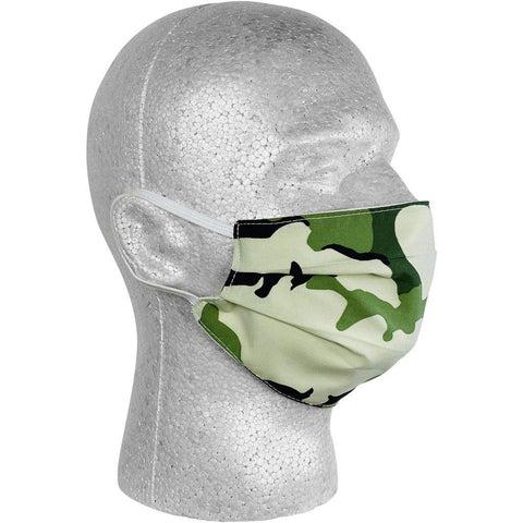 """Stealth Fanatic"" Camo Face Mask (Moss).  **Available in Both Styles** - Board Shorts World"