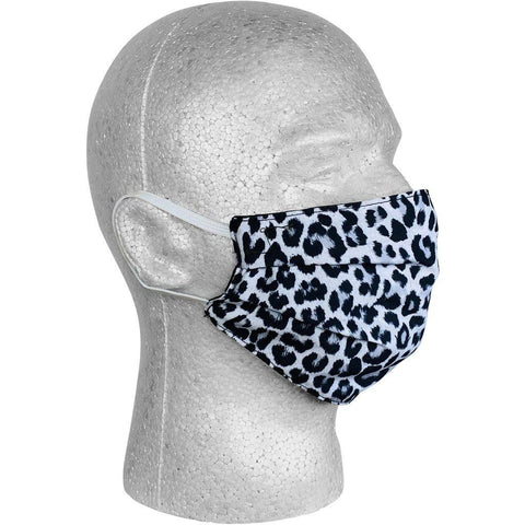"""Wild Weekend"" Cheetah Face Mask (Charcoal).  **Available in Both Styles**"
