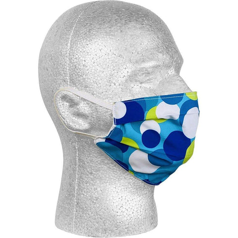 """Coin Toss"" Face Mask (Aqua).  **Available in Both Styles** - Board Shorts World"