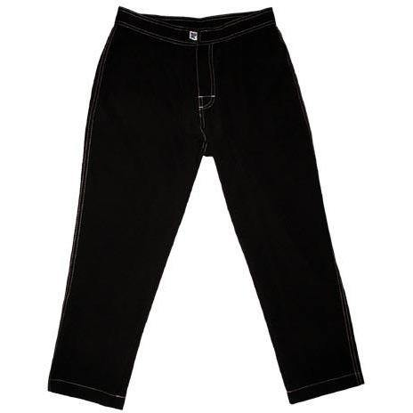 """A Solid Color""  Womens Board (Swim) Capris - NON Elastic Waist  + Regular Rise + 23"" Inseam (Chocolate) *SALE*"