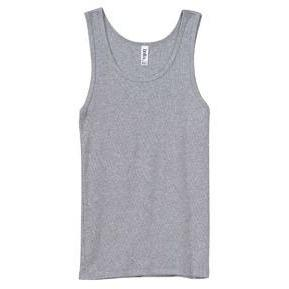 Classic Athletic Tank (90% Cotton + 10% Polyester) - Athletic Heather - Board Shorts World