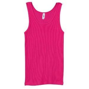 Classic Athletic Tank (100% Cotton) - Fuchsia - Board Shorts World