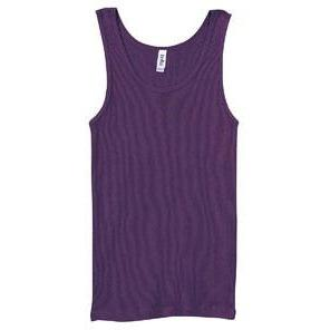 Classic Athletic Tank (100% Cotton) - Purple - Board Shorts World