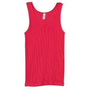Classic Athletic Tank (100% Cotton) - Red - Board Shorts World