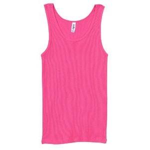 Classic Athletic Tank (100% Cotton) - Hot Pink - Board Shorts World