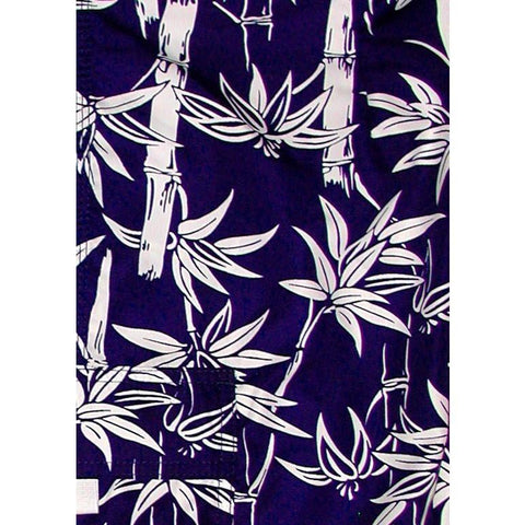 """Branch Out""  Womens Board (Swim) Capris - NON Elastic Waist  + Regular Rise + 23"" Inseam (Navy)"