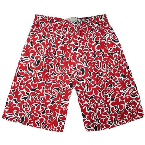 """Bullwinkle"" Boys Swim Trunks with Mesh Liner - 7"" Inseam / 18"" Outseam - Board Shorts World"