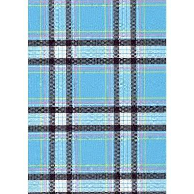 """Casual Friday"" Plaid Board Shorts - Regular Rise / 5"" Inseam (Blue) - Board Shorts World"