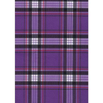 """Casual Friday"" Plaid Face Mask (Purple).  **Available in Both Styles**"