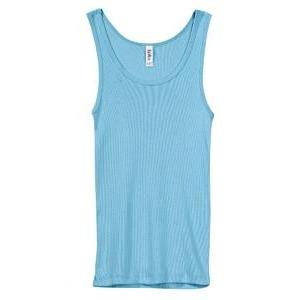 Classic Athletic Tank (100% Cotton) - Aqua - Board Shorts World