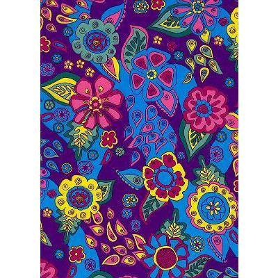 """Carnival"" Hipster Board Skirt (Purple)"