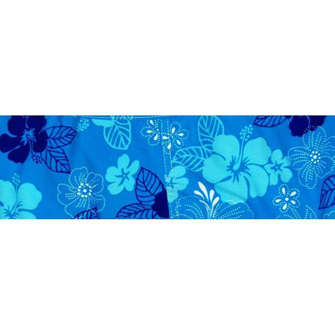 """Dew Drops"" Hipster Board Skirt (Blue) - Board Shorts World"