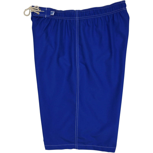 "Elastic Waist Board Shorts. Regular or High Rise/Waist. ""A Solid Color"" Women's CUSTOM (**18 Colors** to choose from!!) - Board Shorts World - 2"
