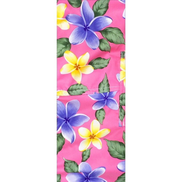 """Free Roaming"" Plumeria Print Head Band (Black, Turquoise, Red, or Pink) - Board Shorts World - 4"