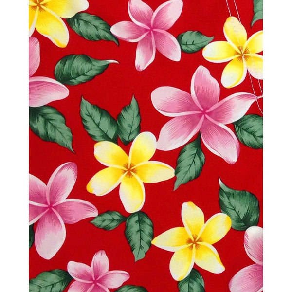 """Free Roaming"" Plumeria Print Head Band (Black, Turquoise, Red, or Pink) - Board Shorts World - 3"