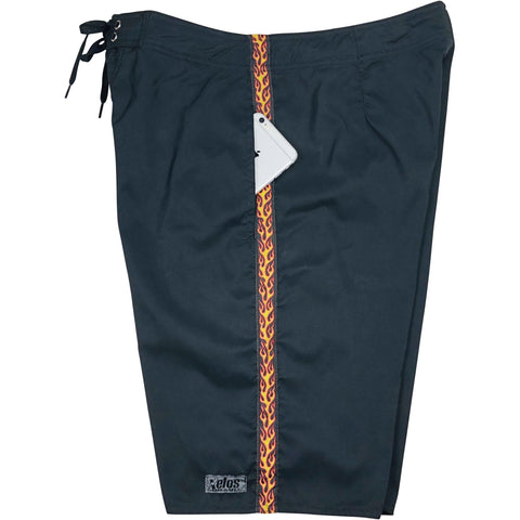 "**NEW** ""The Fire Marshall""  Mens  Board Shorts.  Side Pockets.  24"" Outseam. LIMITED EDITION"