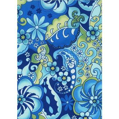 """Lucy in the Sky"" Hipster Board Skirt (Blue)"