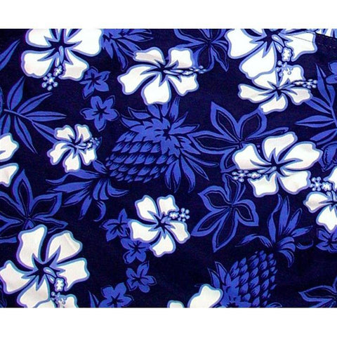"""North Shore"" (Indigo+Periwinkle) Double Cargo Pocket Board Shorts (Select Custom Outseam 22"" - 27"")"