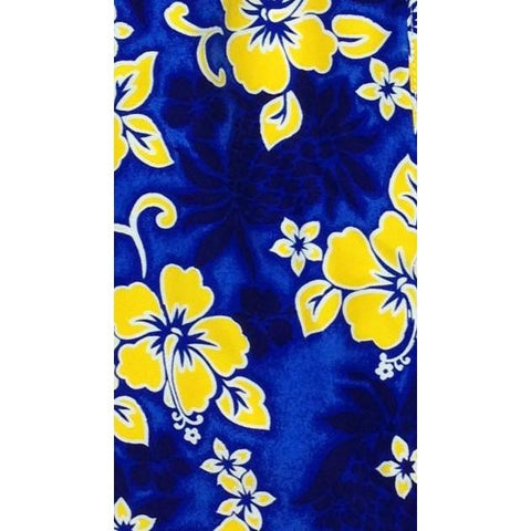 """Pina Colada"" (Blue+Yellow) Toddler Board Short"