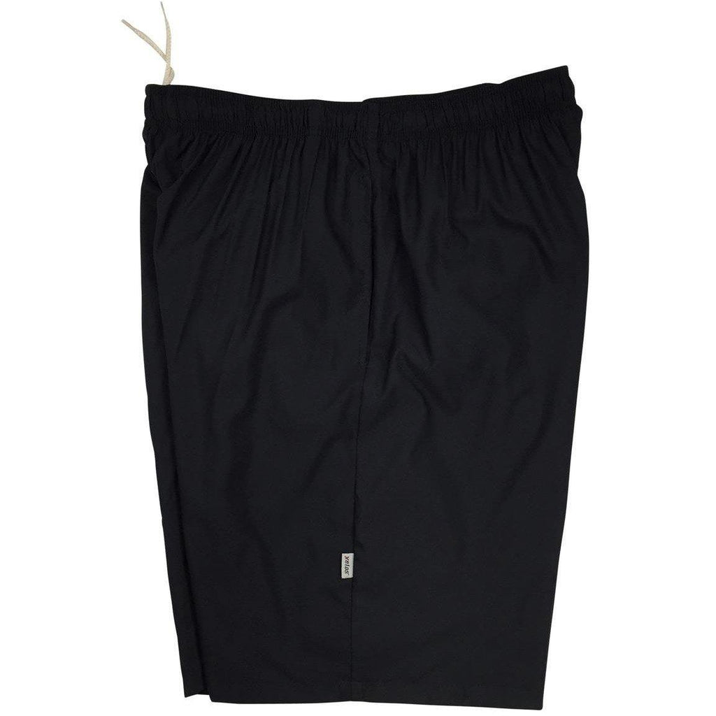 """A Solid Color"" Mens (9.5"" Inseam / 22"" Outseam) Swim Trunks (Black)"