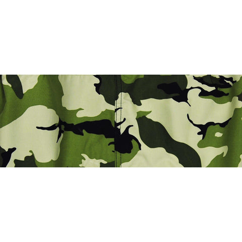 """Stealth Fanatic"" (Moss) Camo Mens Elastic Waist Board Shorts - 9"" Inseam *SALE* - Board Shorts World"