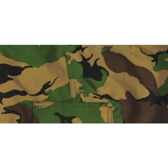 """Stealth Fanatic""  Womens Board (Swim) Camo Capris - NON Elastic Waist + Regular Rise + 23"" Inseam (Traditional) - Board Shorts World"
