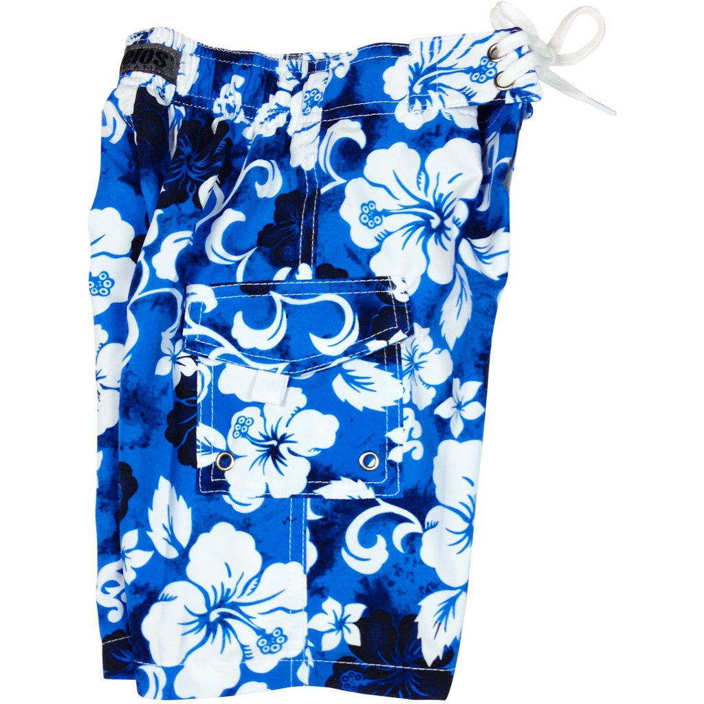 """Jungle Boogie"" Toddler Board Short (Blue or Orange) - Board Shorts World - 1"