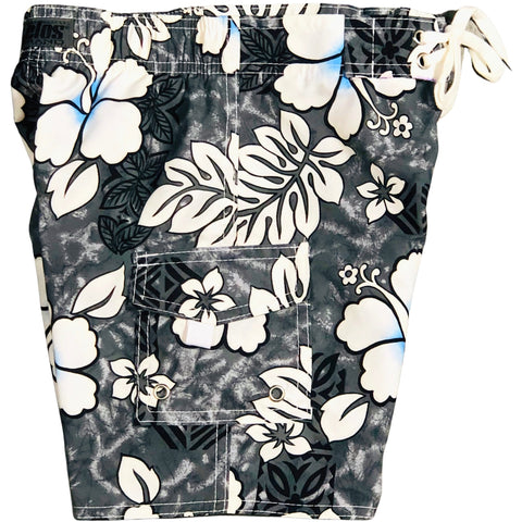 """Tribal Council"" (Charcoal) Toddler Board Short"