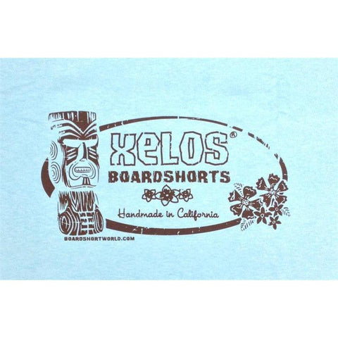 """False Idols"" Mens Tee Shirt (Aqua) - Board Shorts World"