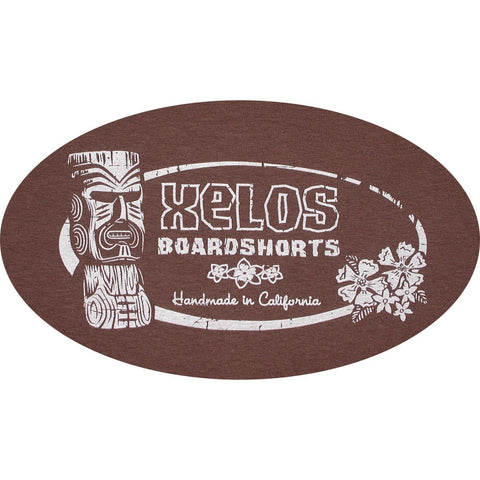 """False Idols"" Mens Tee Shirt (Chestnut) - Board Shorts World"
