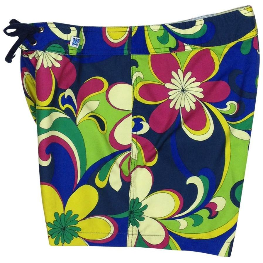 """Art Fest"" Board Shorts - Regular Rise / 5"" Inseam - Board Shorts World"