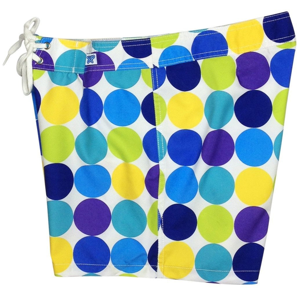 """Twister"" Board Shorts - Regular Rise / 5"" Inseam (Blue, Citrus, or Black Multi) - Board Shorts World - 1"