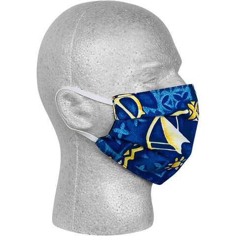 """Jungle Cruise"" (Blue) Face Mask - Board Shorts World"