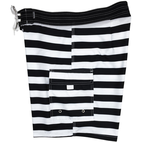 """Jail Bird"" Mens Board Shorts w/ Dual Cargo Pockets.  17.5"" Outseam / 5"" Inseam - Board Shorts World"